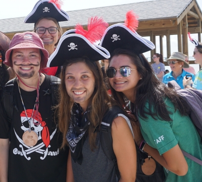 Staff As Pirates